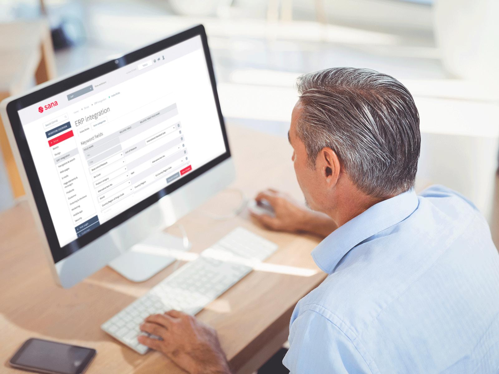 Sana Commerce desktop